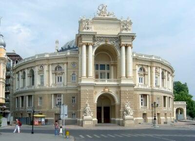La Ópera de Odessa Odessa Ucrania