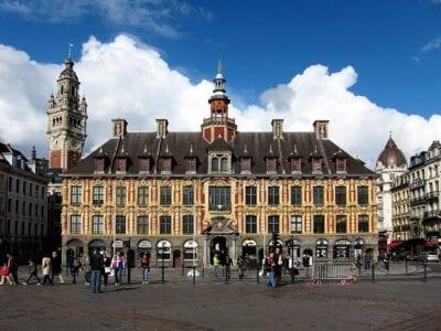 La antigua Bolsa de Valores Lille Francia