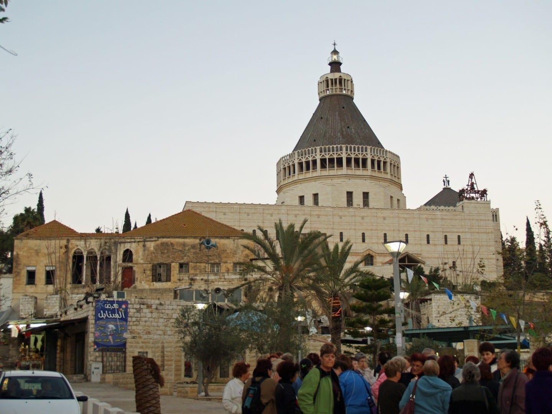 La Basílica de la Anunciación Nazaret Israel