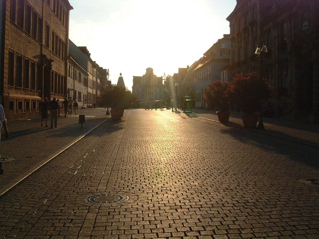 La calle principal de Speyer Espira Alemania