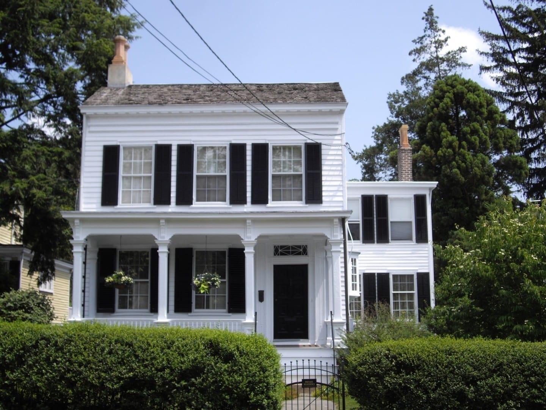 La casa de Albert Einstein Princeton NJ Estados Unidos