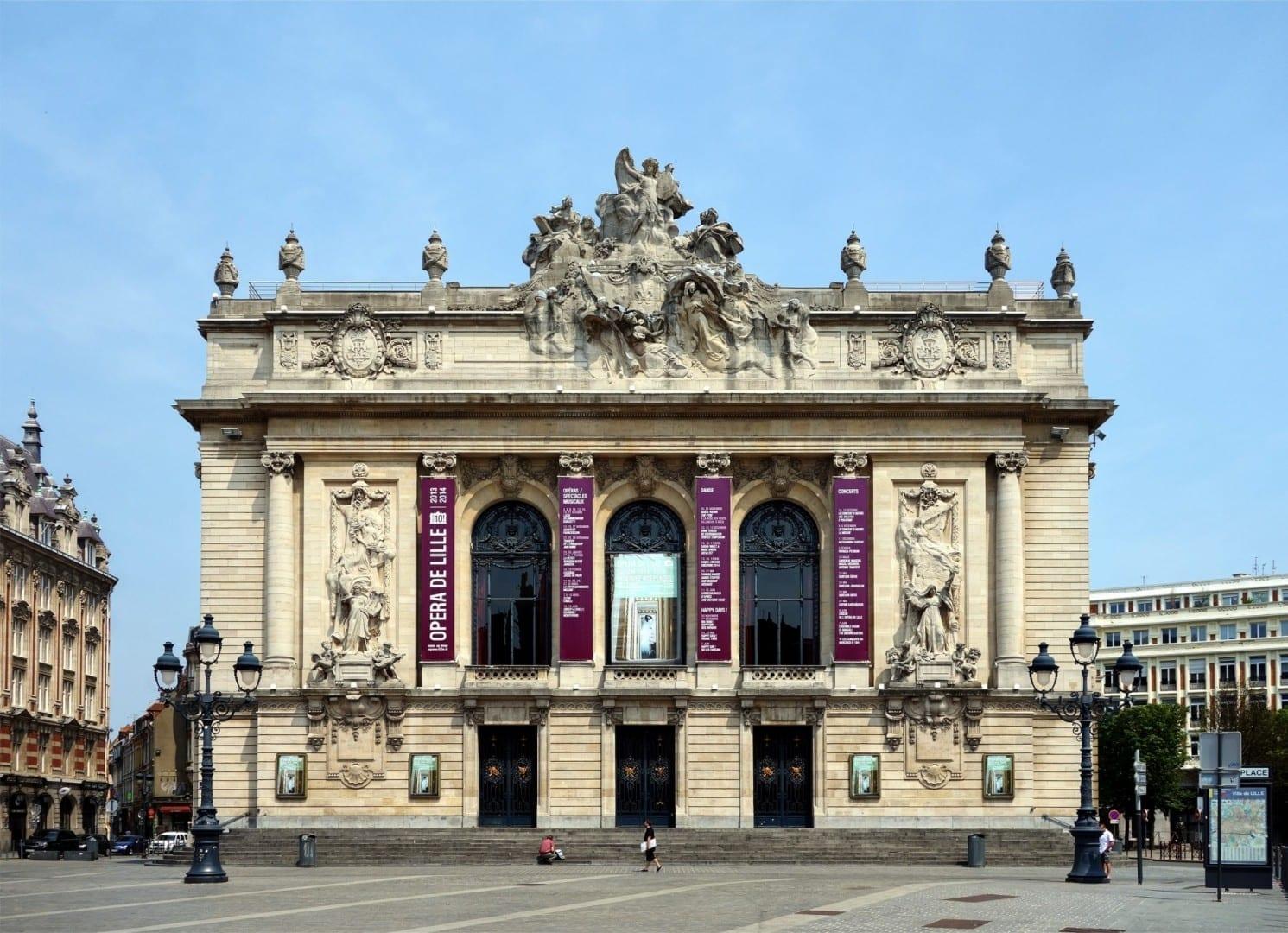 La casa de la ópera de Lille Lille Francia