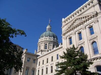 La Casa del Estado de Indiana Indianapolis Estados Unidos
