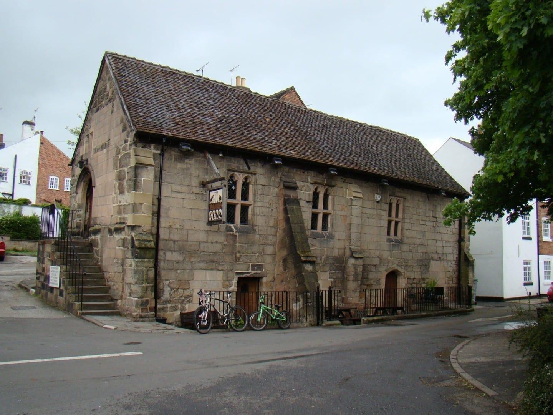 La Casa Pública de la Abadía Derby Reino Unido