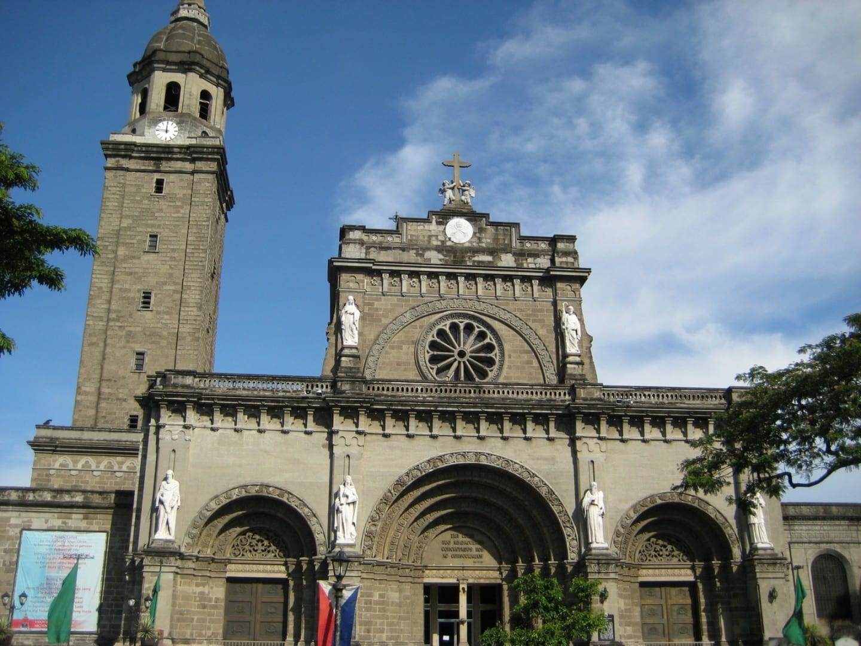 La Catedral de Manila Intramuros (Manila) Filipinas