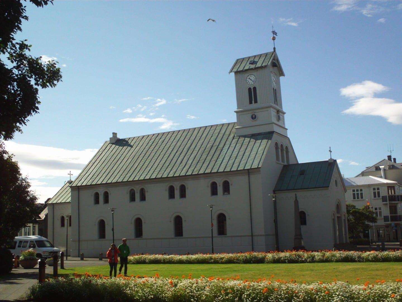 La catedral de Reykjavik Reykjanes Islandia