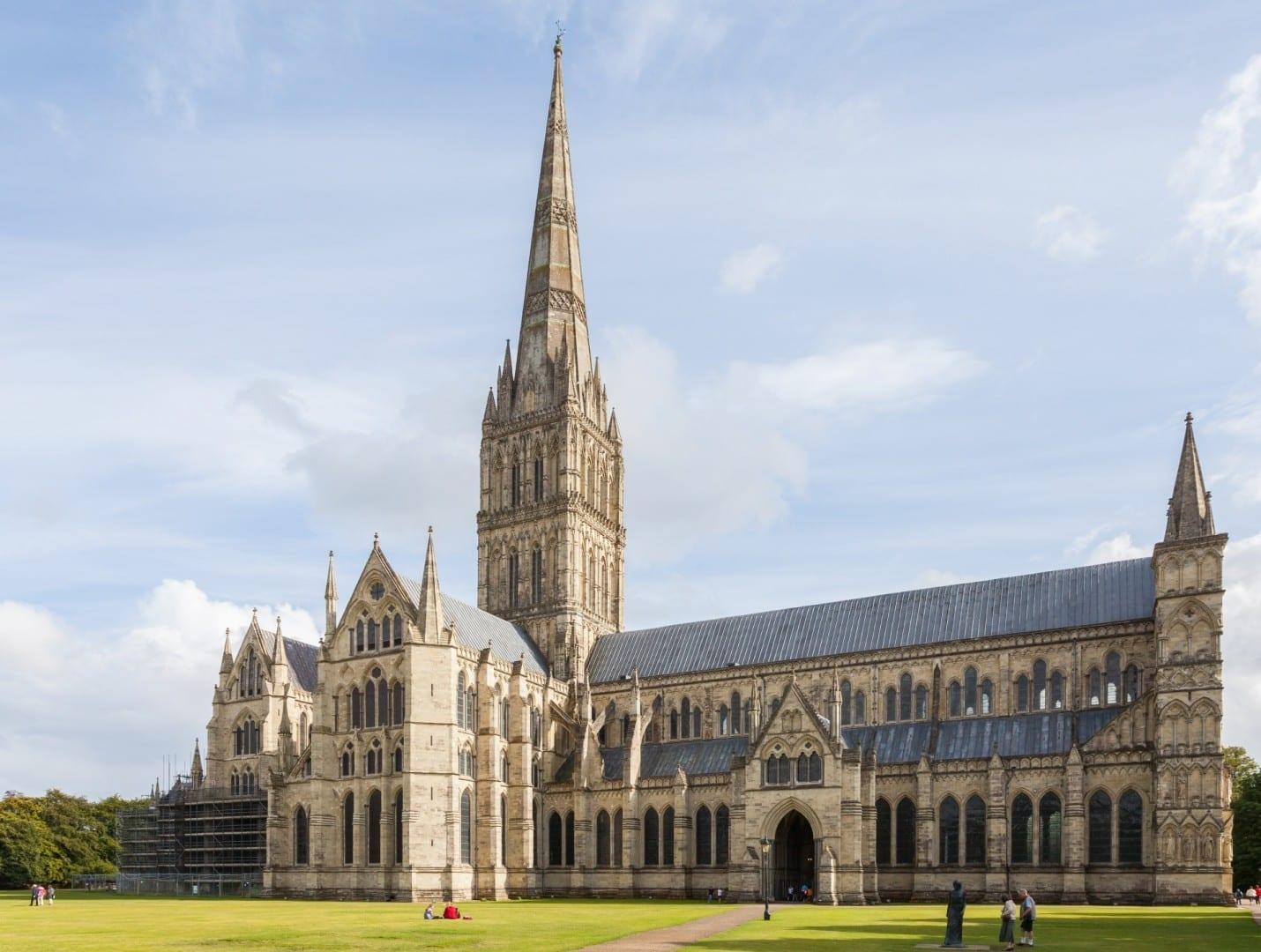 La catedral de Salisbury Salisbury Reino Unido