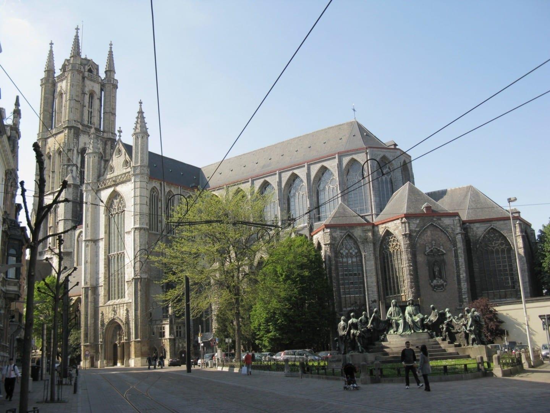 La Catedral de San Bavo Gante Bélgica