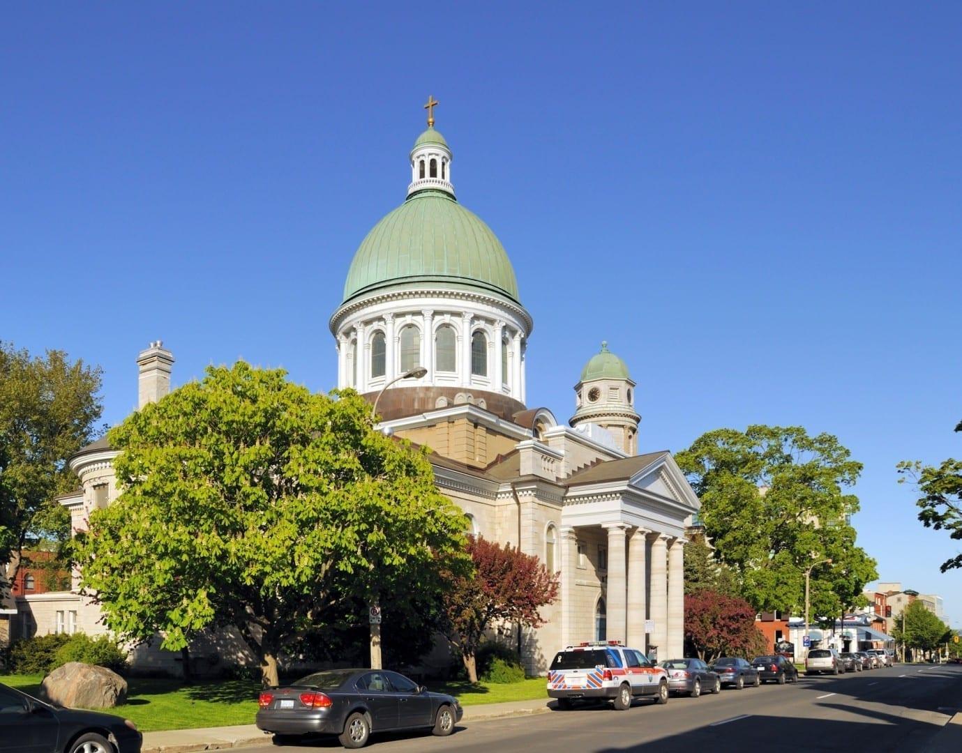 La catedral de San Jorge Kingston Canadá