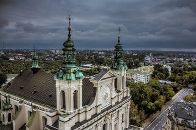 La Catedral Iglesia Lublin Polonia