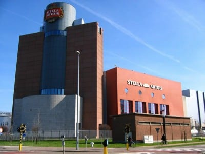 La cervecería Stella Artois. Lovaina Bélgica