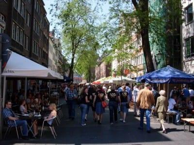 La Ciudad Vieja Düsseldorf Alemania