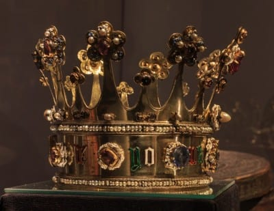 La Corona de Margarita de York en el Tesoro de la Catedral Aquisgrán Alemania