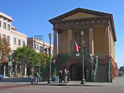 La entrada al mercado de Charleston Charleston SC Estados Unidos