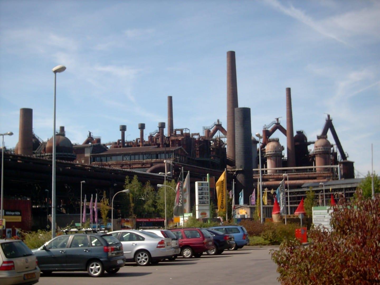 La fábrica de hierro de Völklingen Sarrebruck Alemania