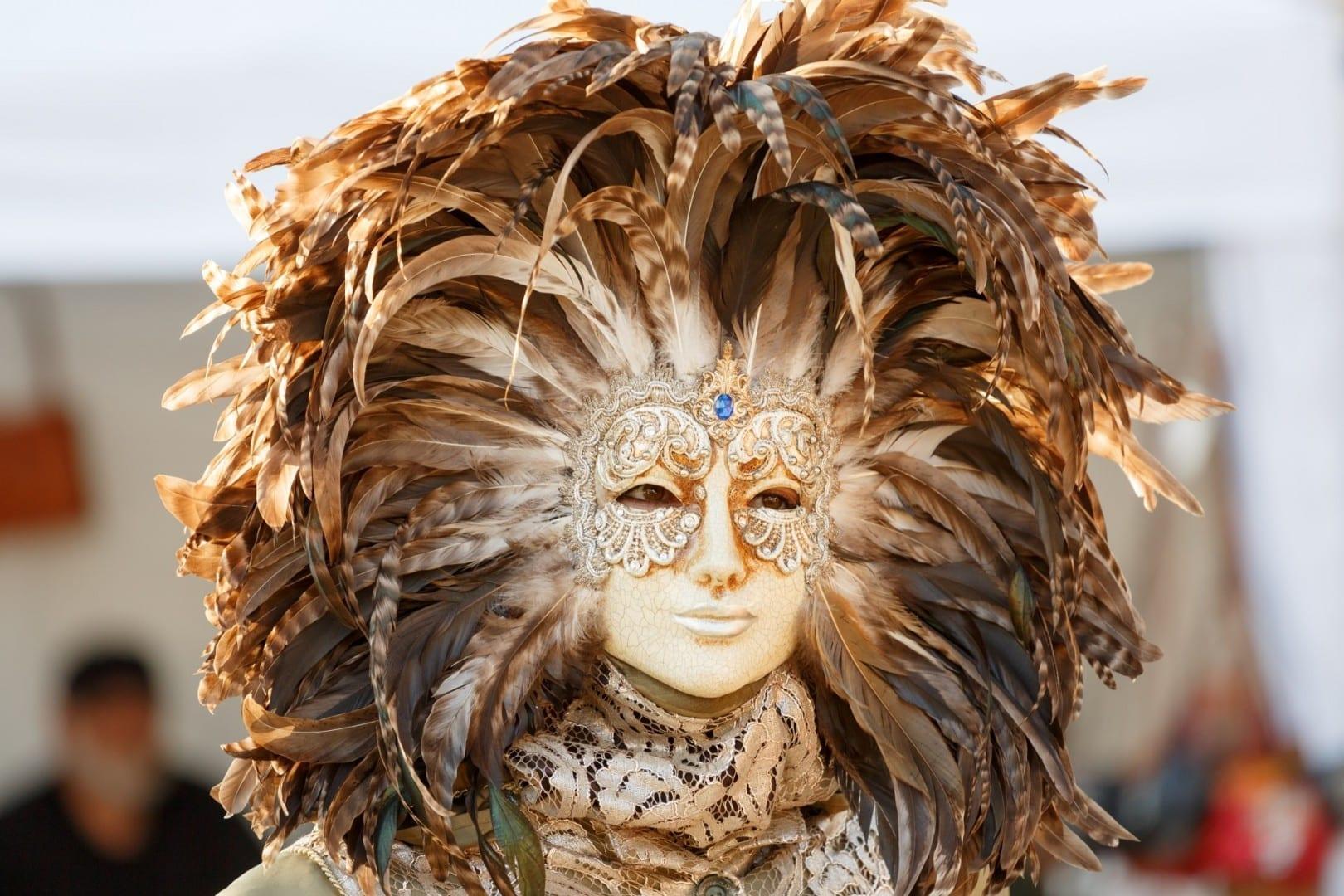 La Feria de Venecia es un lugar de encuentro para todos los que aman las mascaradas. Luisburgo Alemania