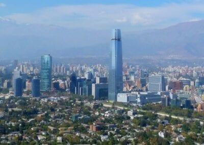 La Gran Torre Santiago, el edificio más alto de América Latina Santiago de Chile Chile