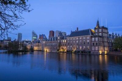 La Haya Centro Patio Países Bajos