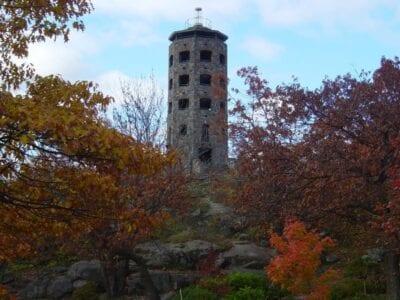 La icónica Torre de Enger de Duluth proporciona excelentes vistas de la ciudad. Duluth (Minnesota) Estados Unidos