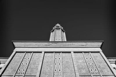 La Iglesia De San José Torre Le Havre Francia