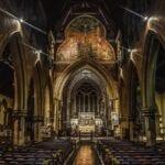 La Iglesia De San Pedro Interior Bournemouth Reino Unido