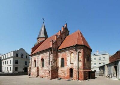 La iglesia de Santa Gertrudis Kaunas Lituania