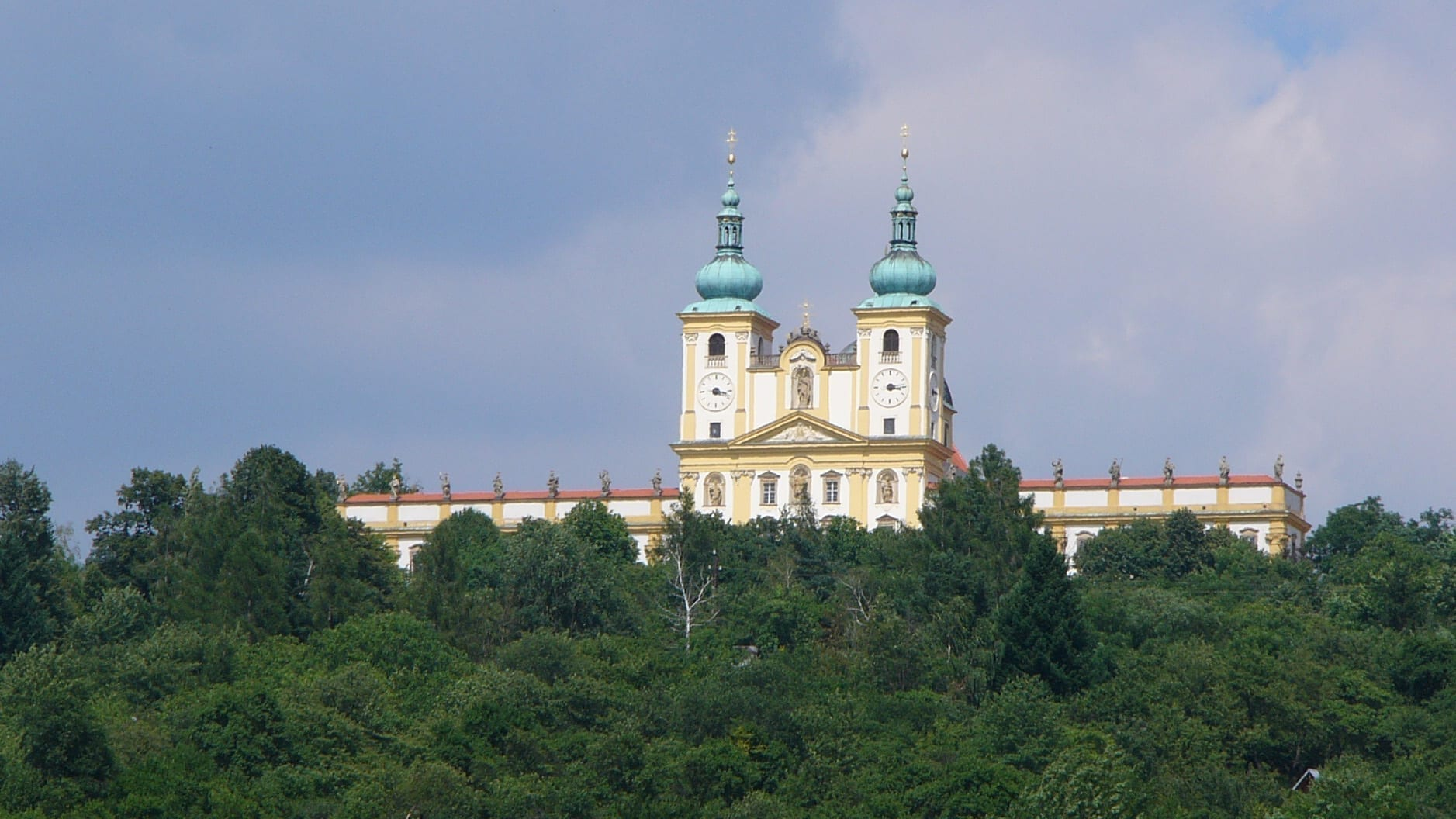 La Iglesia en Svaty Kopecek Olomouc República Checa