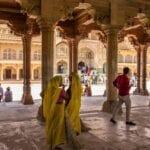 La India Jaipur El Fuerte Amber India