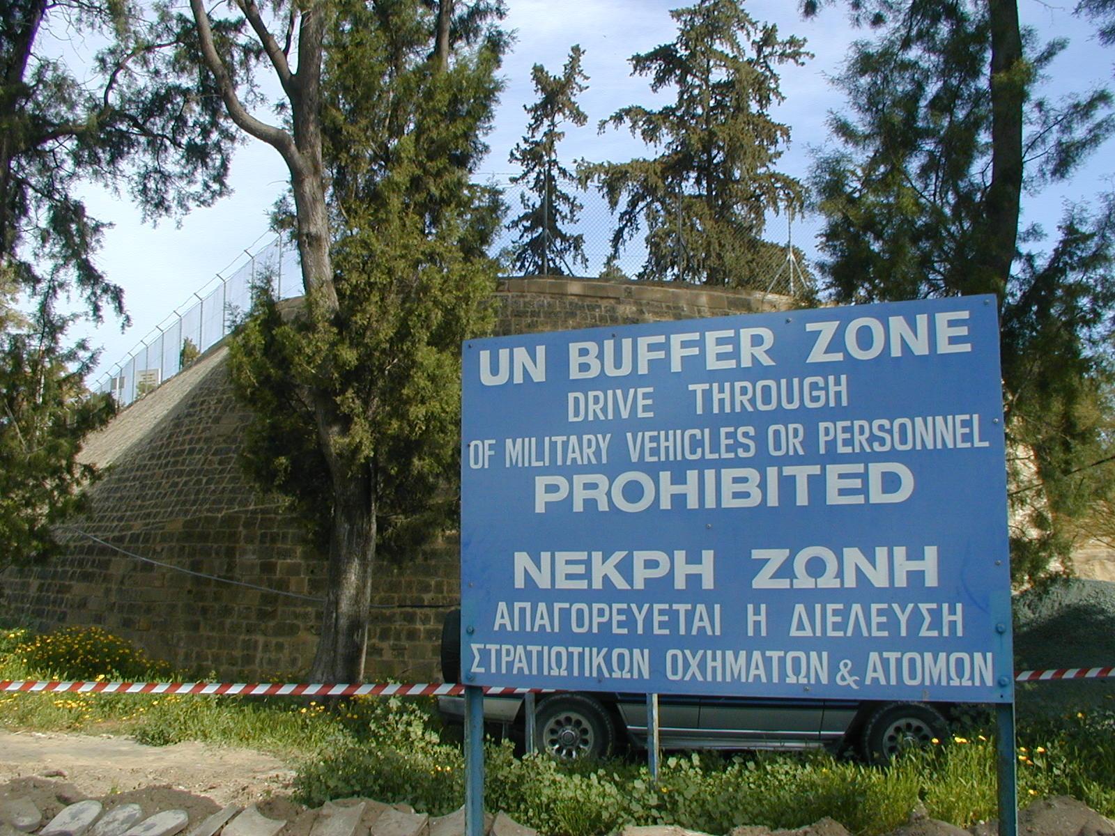 La Línea Verde Nicosia (Lefkosia) Chipre