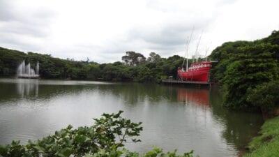 La laguna de Taquaral. Campinas Brasil