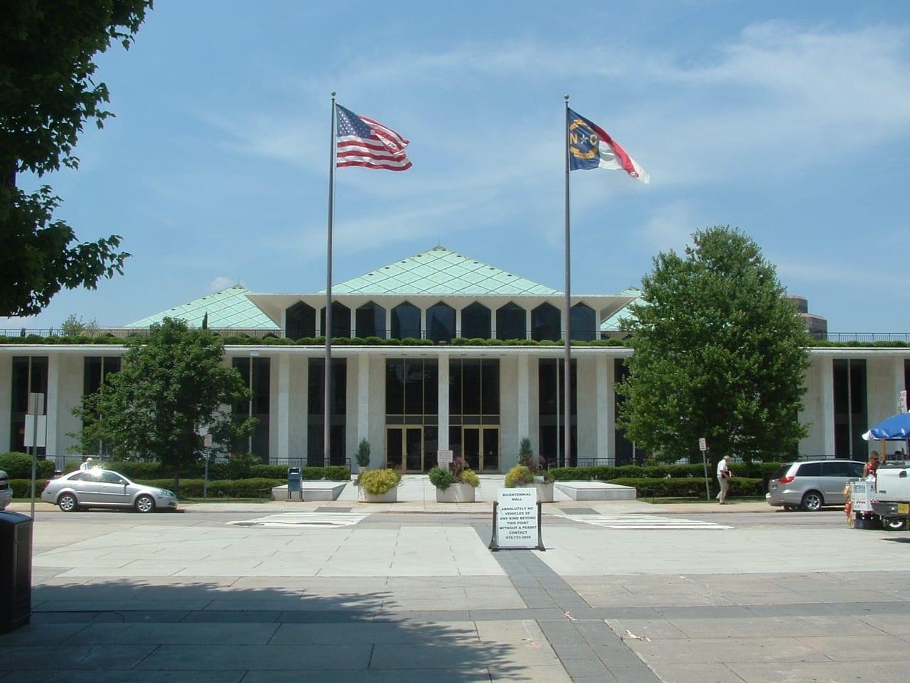 La Legislatura de Carolina del Norte Raleigh (Carolina del Norte) Estados Unidos