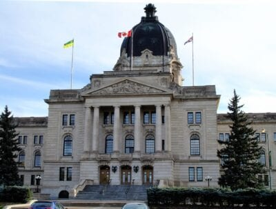 La Legislatura de Saskatchewan Regina Canadá