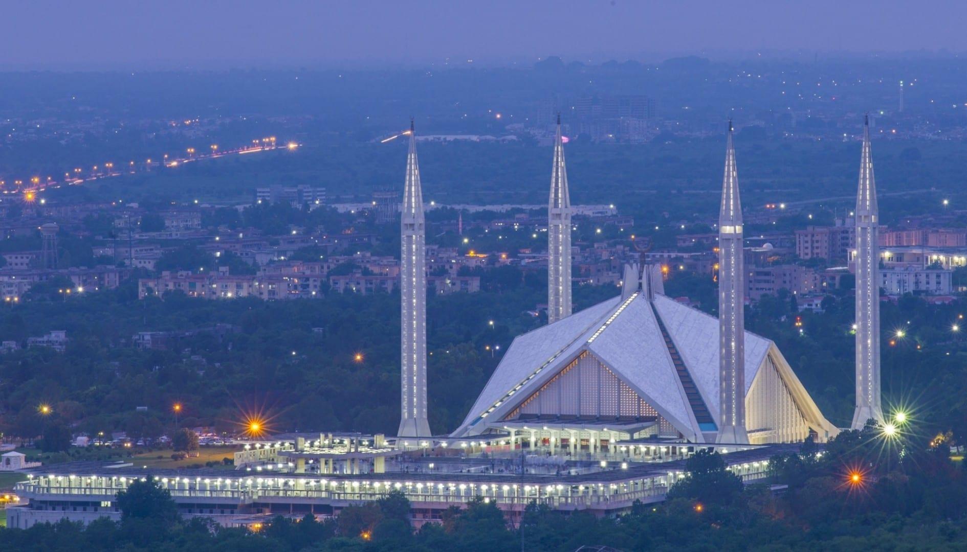La mezquita nacional de Pakistán, Mezquita de Faisal Islamabad Pakistán