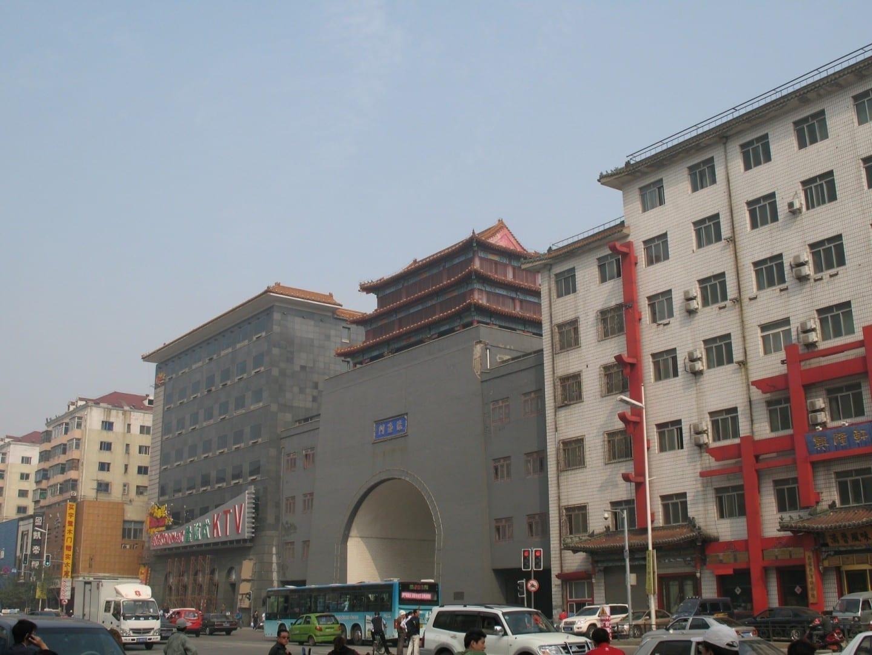 La muralla de la ciudad Shenyang China