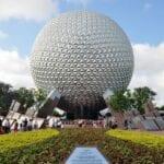 La nave espacial Tierra, el icono de Epcot Walt Disney World Resort FL Estados Unidos