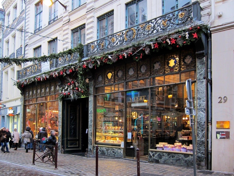 La pastelería Meert Lille Francia