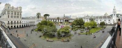 La Plaza Grande de Quito Quito Ecuador
