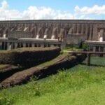 La presa de Itaipú Foz do Iguazú Brasil