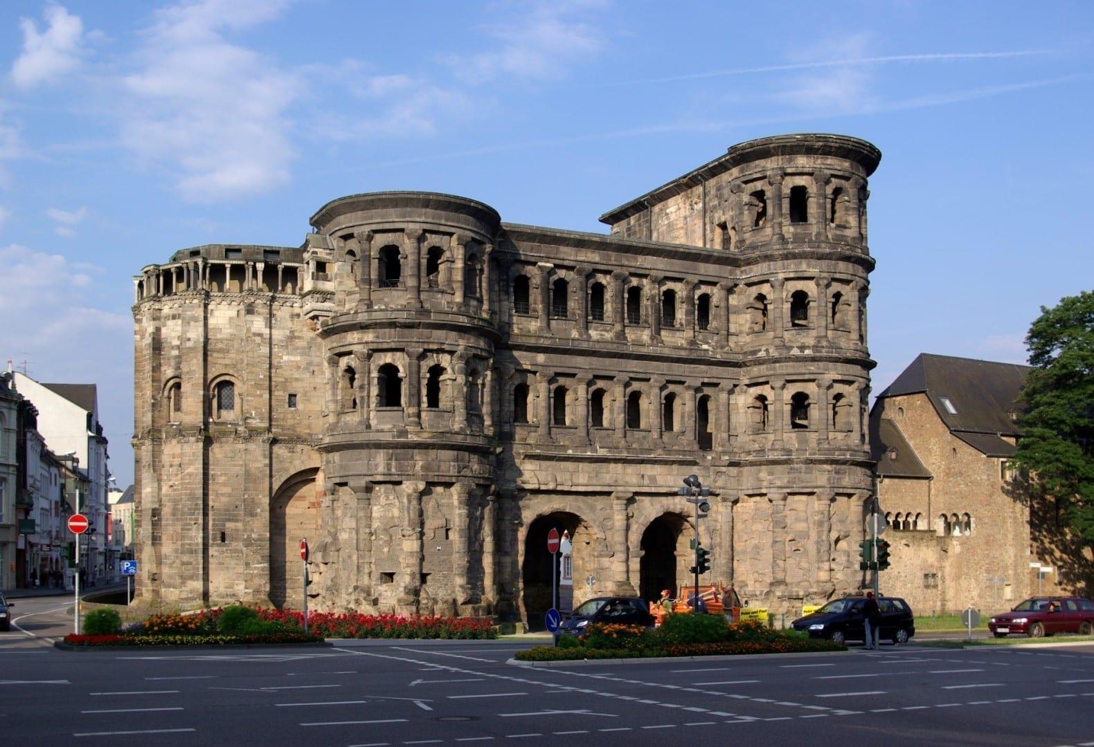 La Puerta Nigra Tréveris Alemania