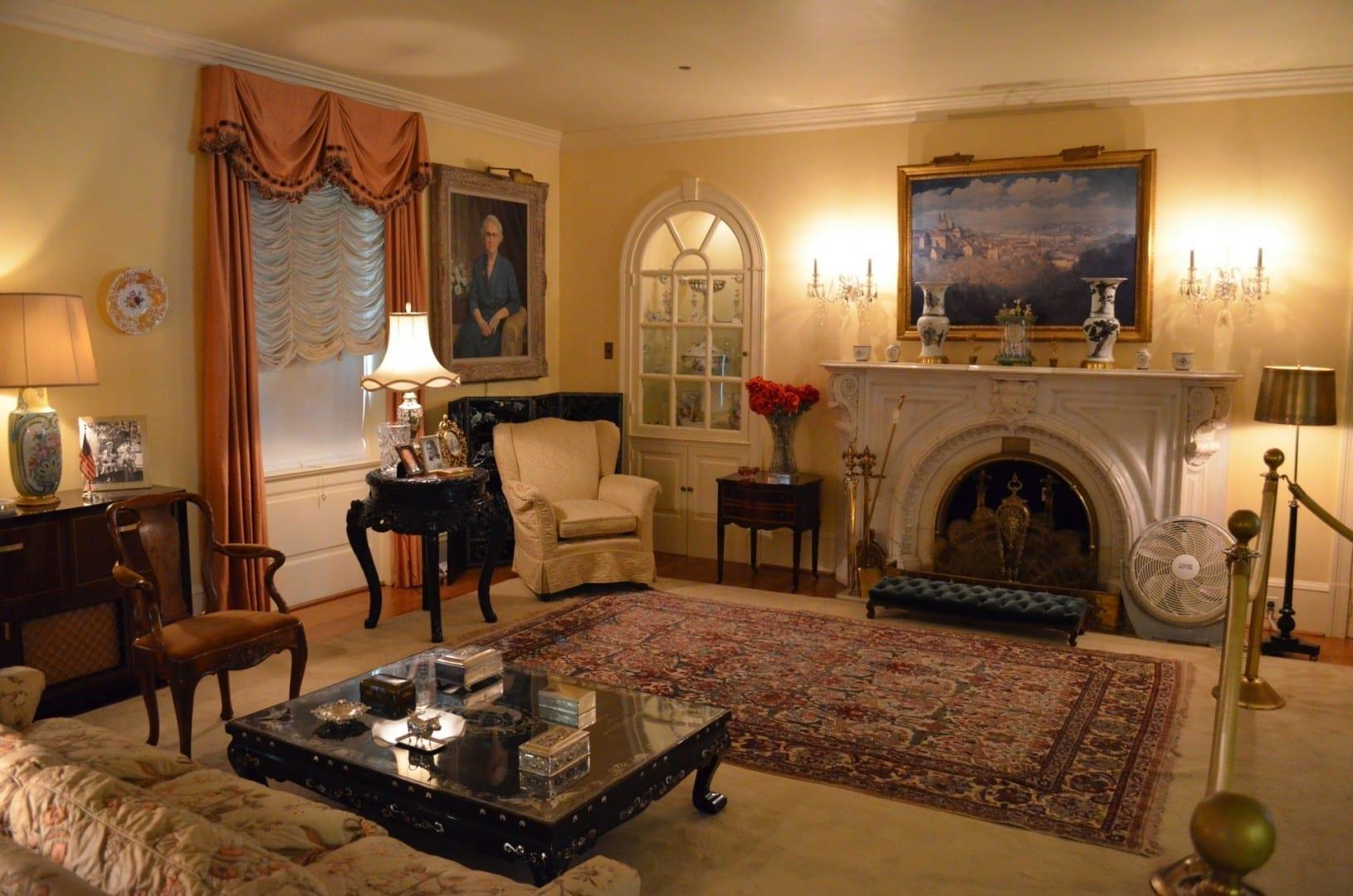 La sala de estar de Eisenhower Gettysburg , PA Estados Unidos
