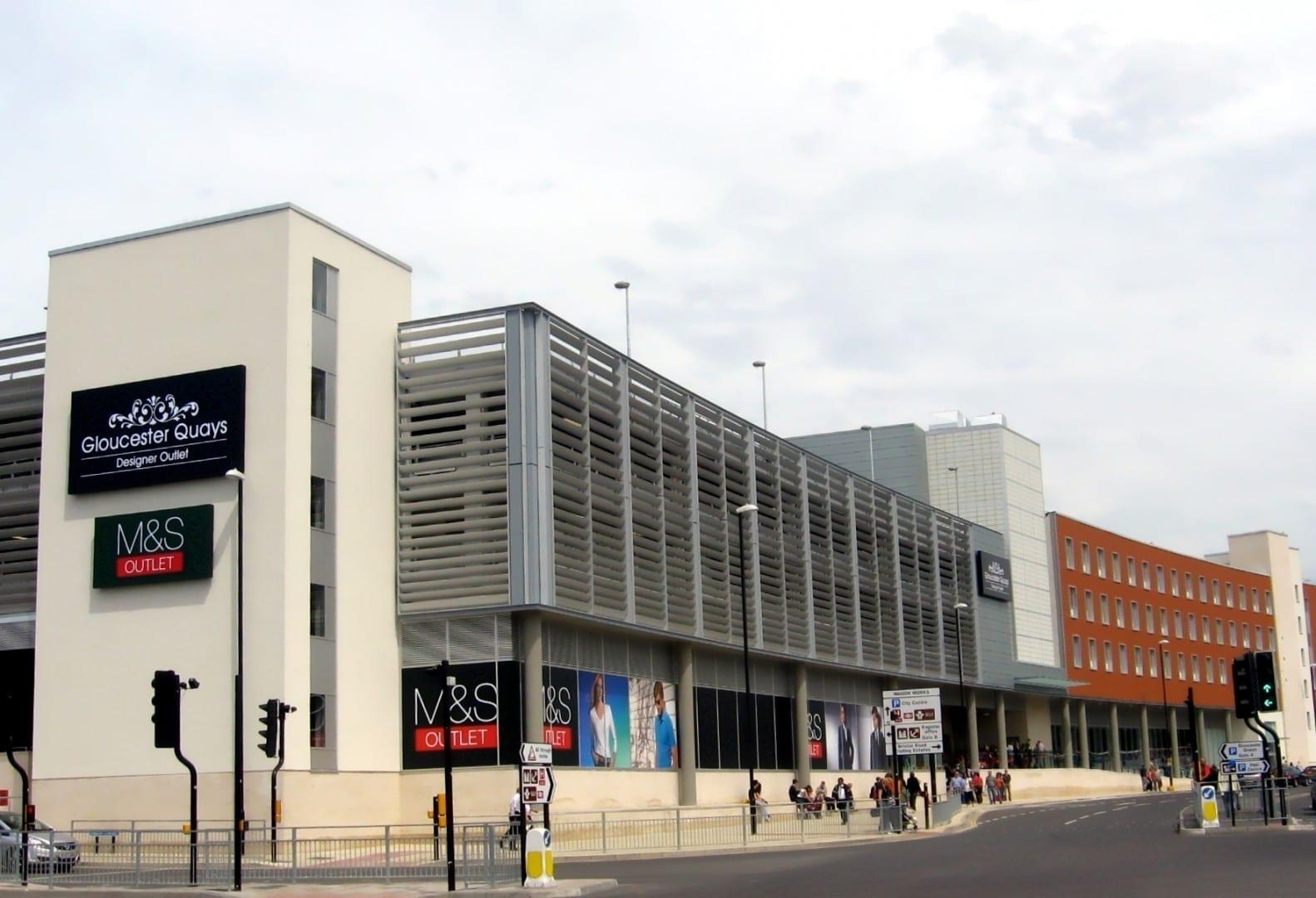 La tienda de diseño de Gloucester Quays Gloucester Reino Unido