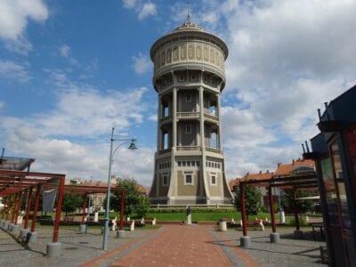 La torre de agua Szeged Hungría