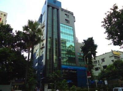 La Torre GK ubicada en la calle Camac Calcuta India