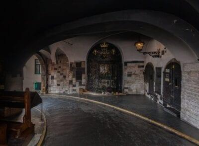 La vieja Puerta de Piedra Zagreb Croacia