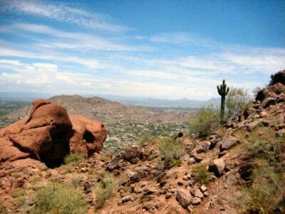 La vista desde la Montaña Camelback Phoenix AZ Estados Unidos