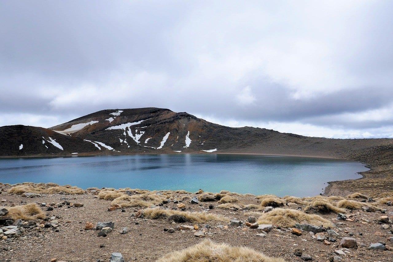 Lago Azul Tongariro Alpine Crossing Nueva Zelanda Nueva Zelanda