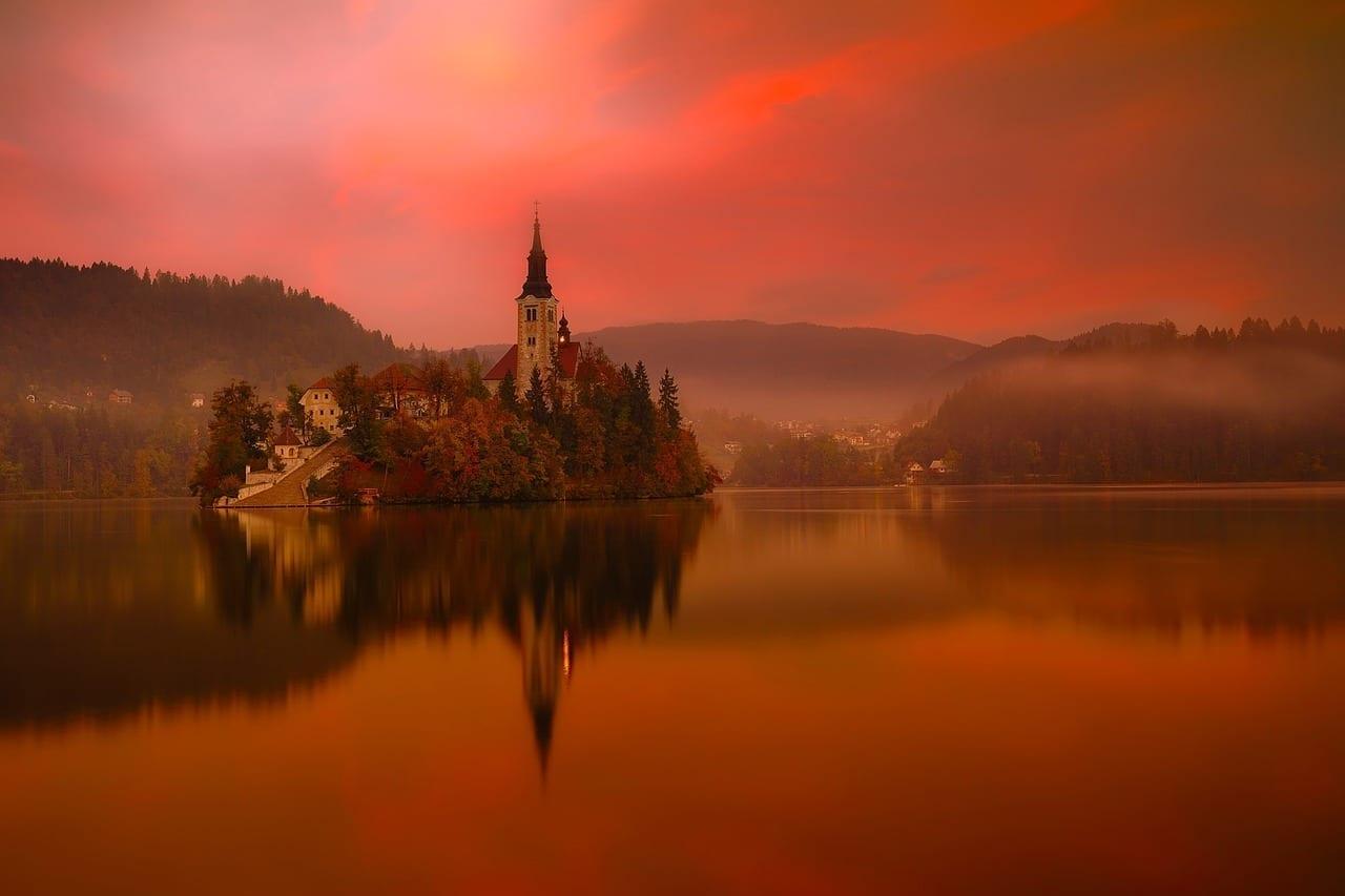 Lago Bled Eslovenia De Viaje Eslovenia