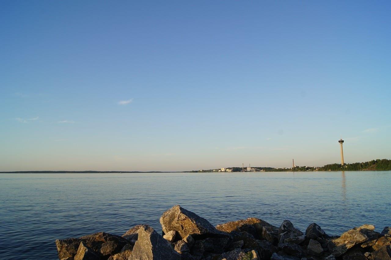 Lago Näsijärvi Tampere Finlandia Finlandia