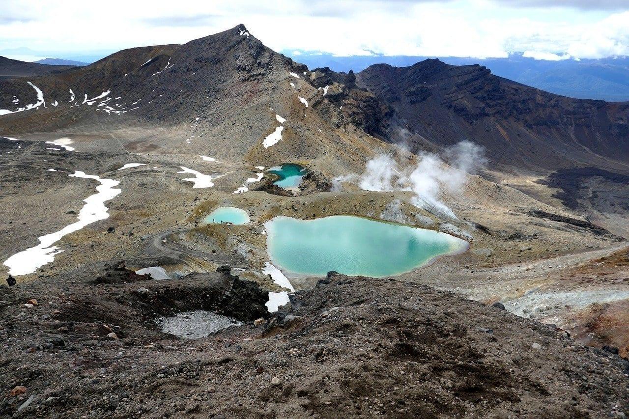 Lagos Esmeralda Tongariro Alpine Crossing Nueva Zelanda Nueva Zelanda
