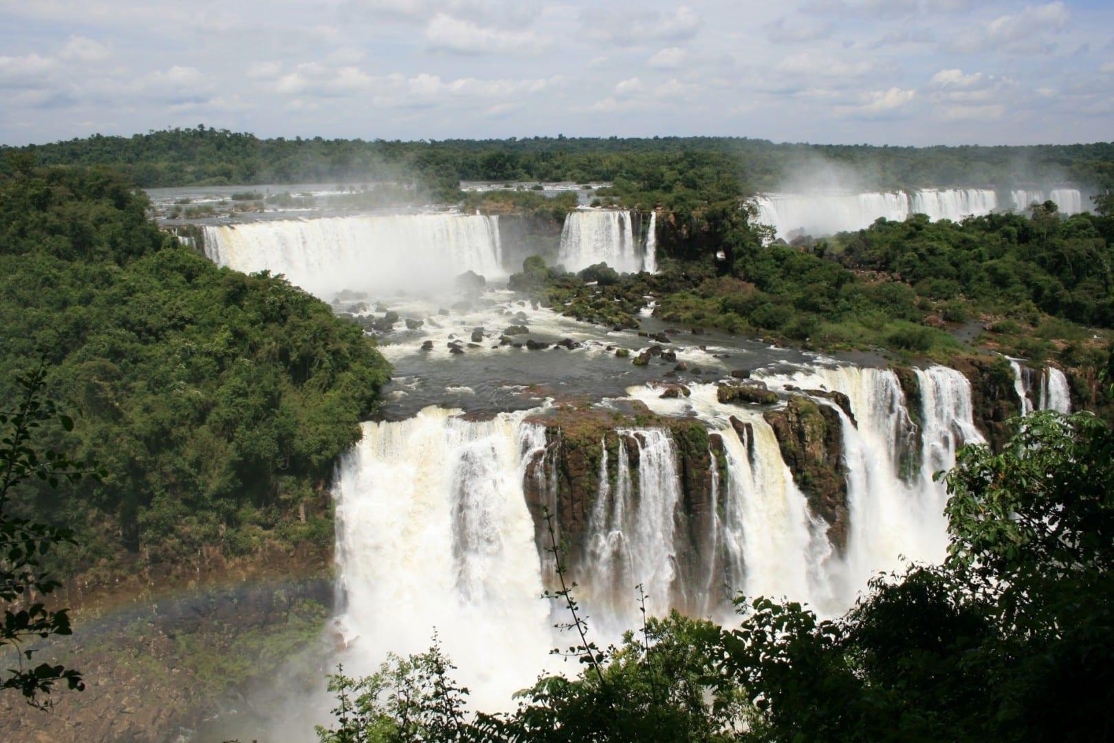 Las Cataratas del Iguazú cerca de Foz de Iguazú Foz do Iguazú Brasil